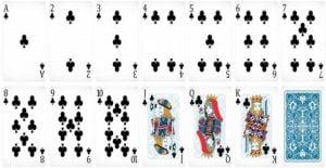 פוקר - סדרת הקלפים